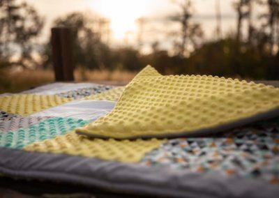 Patchworková hrací deka